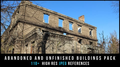 Abandoned and unfinished buildings Pack