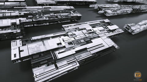 3D Greebles set 2