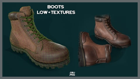 Boots Low + Textures