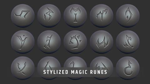Stylized Magic Runes