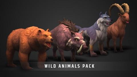 Stylized Wild Animals Pack