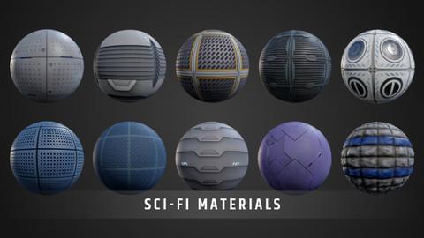 Sci-Fi Materials Pack