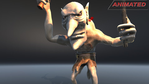 Fantasy character 05--Troll