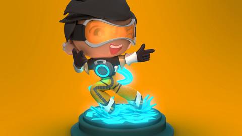 Tracer - 3D figurine