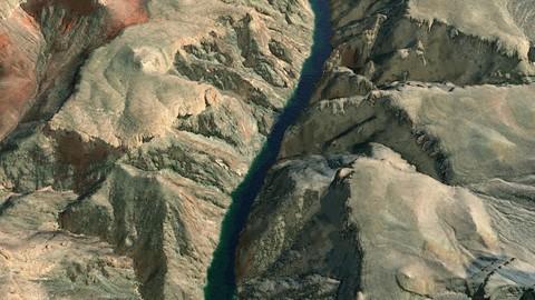 Grand Canyon v2 3D Model