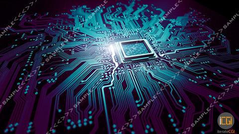 3D Model Quantum processor