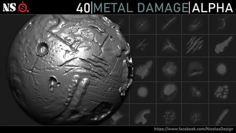 Metal Damage Alphas