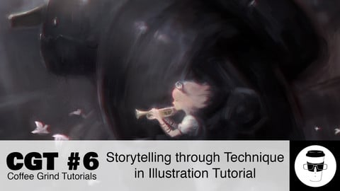 CGT #6: Storytelling Through Technique in Illustration Tutorial