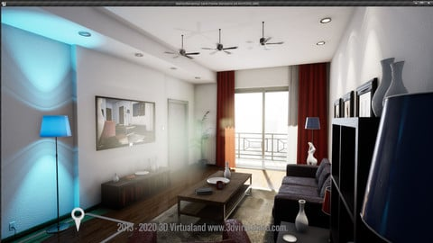 Interactive Room UI UE4