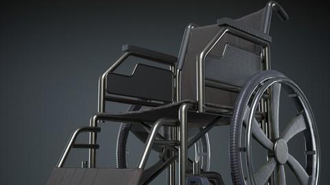 Lowpoly Wheelchair