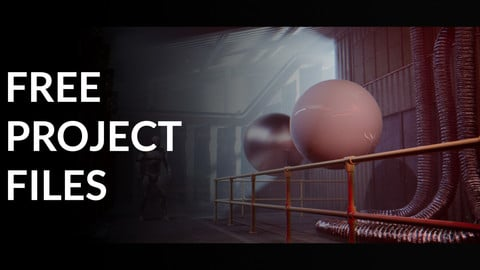 Free Project Files - Dynamic Light, Reflections and Mood Study - UE4