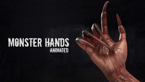Monster Hands - Animated