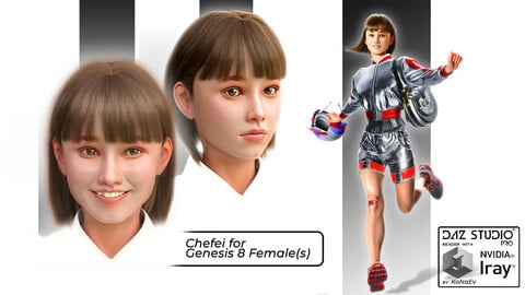 Chefei for  Daz Studio