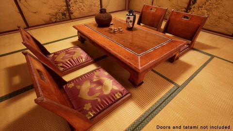 Japanese Furniture - Vol 1