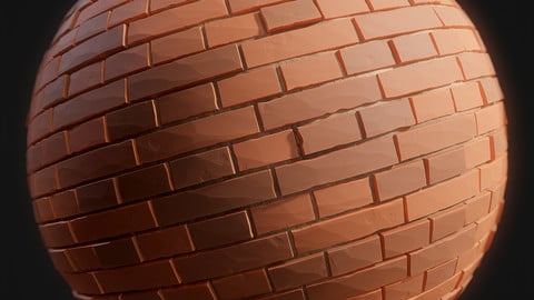 Stylized Brick Substance