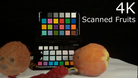 4K Scanned Fruits