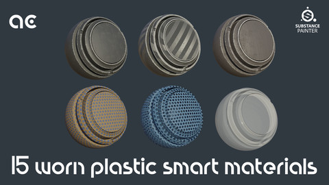 Worn Plastic Smart Materials Collection | 15 Smart Materials