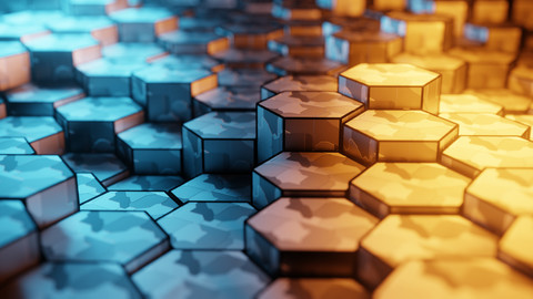Hexagon Abstract Animation | Blender
