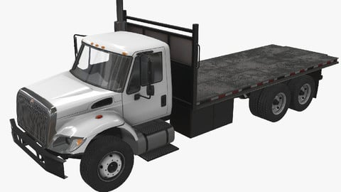 Flatbed Truck International 7400