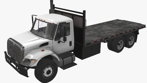 Flatbed Truck International 7400