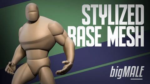 Stylized Basemesh Big Male