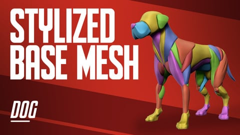 Stylized Basemesh Dog