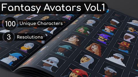 Fantasy Avatars Vol. 1