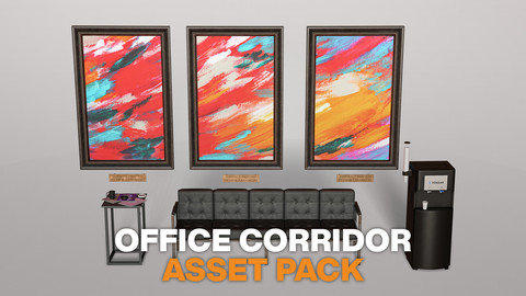 Office Corridor - Asset Pack