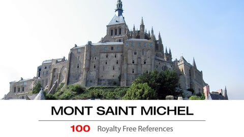 MONT ST. MICHEL - The real life MINAS TIRITH