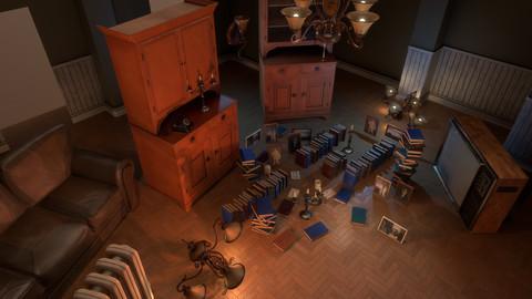 Living Room Pack - PBR Models
