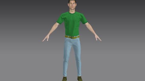 shirt and pants and belt