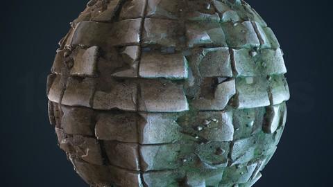 4k PBR Texture Of Wet Stone