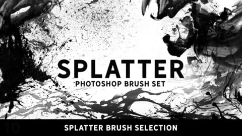 Splatter brush selection