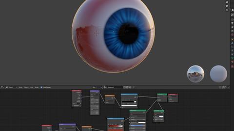 eye material ball
