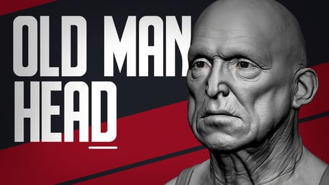 Male Head - Old Man