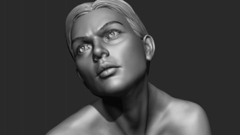 Woman Zbrush Sculpt 2