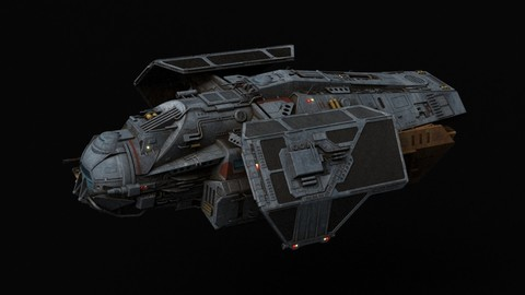 Star Wars Can cell class Heavy Transport 3D model