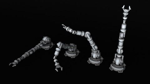 BATTLETECH Mechanical arm manipulator 3D print model