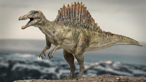 Spinosaurus Rigged 3D model