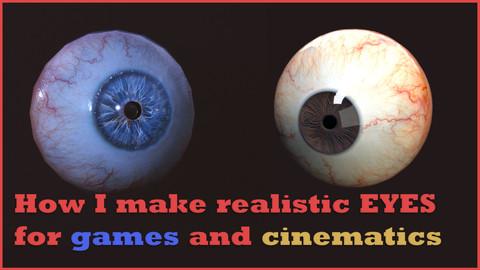 How I make realistic Eyes