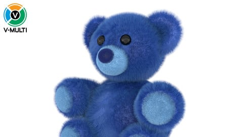3D Model: Stuffed Bear