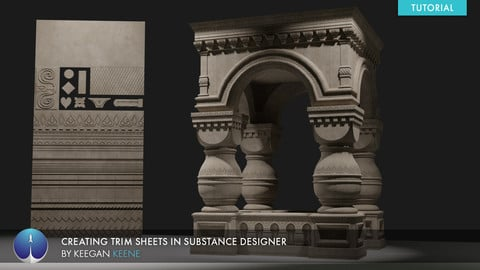 Creating Trim Sheets in Substance Designer | Keegan Keene