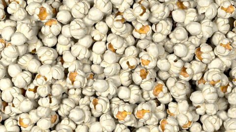 Popcorn With Looping Animation