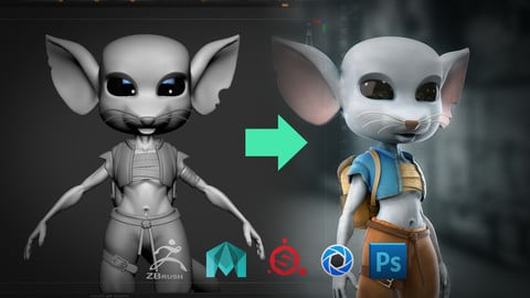 3D character creation tutorial