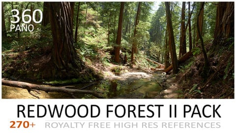 REDWOOD FOREST II PACK