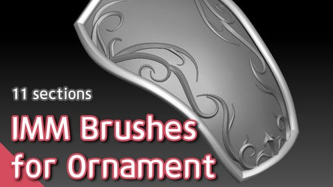 IMM Brushes for Ornament
