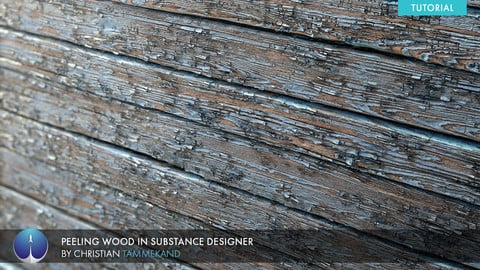 Creating Peeling Wood in Substance Designer | Christian Tammekand