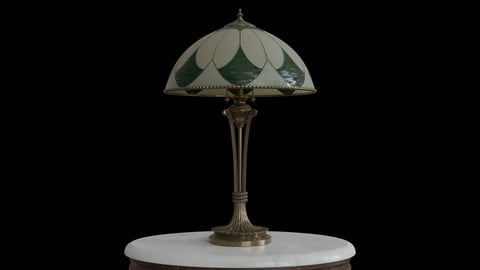 Antique Table Lamp 001