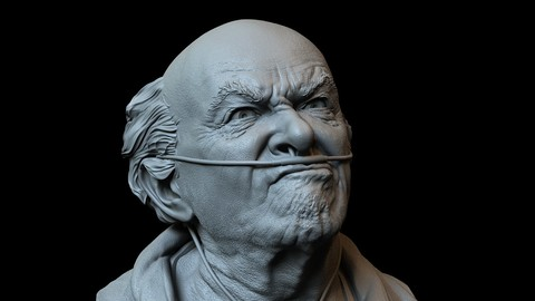 Hector Salamanca from Breaking Bad - 3d printable bust