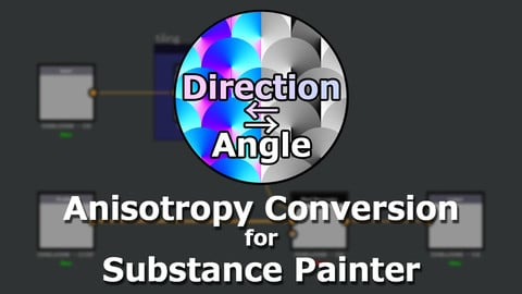Anisotropy Conversion Generator for Substance Painter